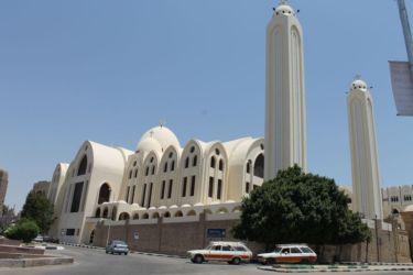 Assouan, la cathédrale copte