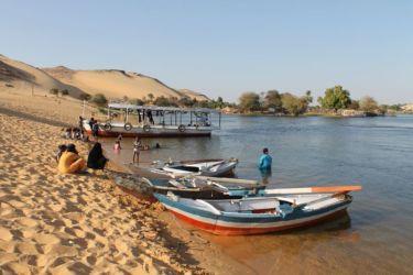 Assouan, la rive gauche