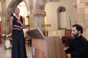 Aurore Ugolin chante l'Ave Maria