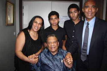 Avec Andrew Young
