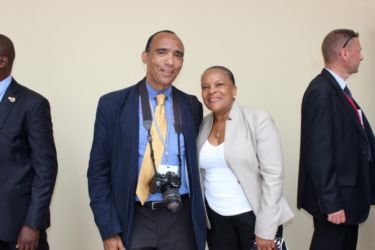 Avec Christiane TAUBIRA
