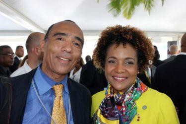 Avec Michaelle JEAN, Secrétaire Générale de l'Office Internationale de la Francophonie