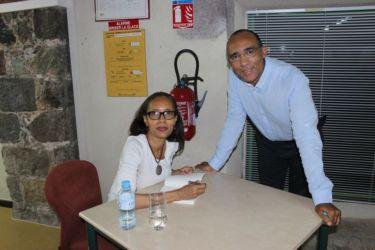 Avec Pascal Gbikpi