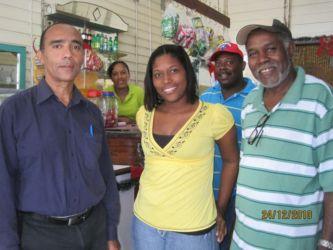 Avec les amis de Puerto Limon