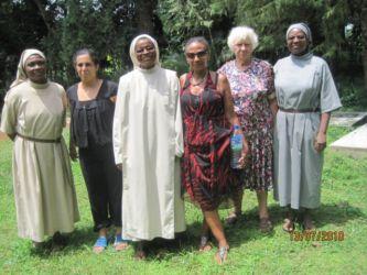 Avec les bénédictines de Dzogbégan
