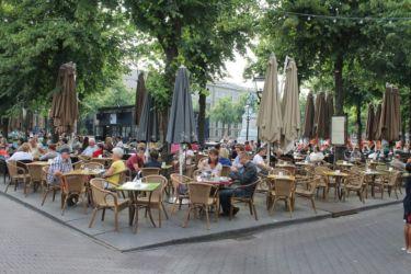 Café à La Haye