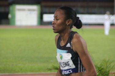 Chantel MALONE (Usa) 3è au saut en longueur avec 6,21 m