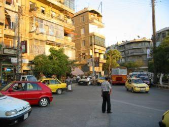 Circulation à Alep