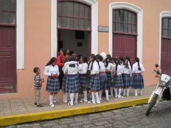 Collégiennes de Riobamba
