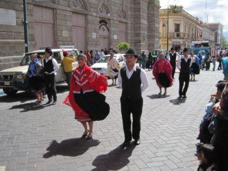 Défilé dans Riobamba