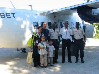 Départ de l'aéroport de Port-de-Paix