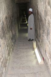 Dendera, couloir menant à l'étage