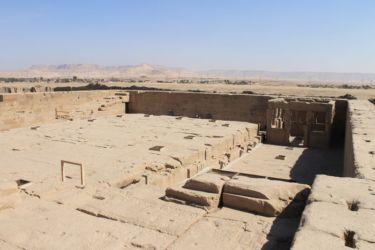 Dendera, sur le toit du temple