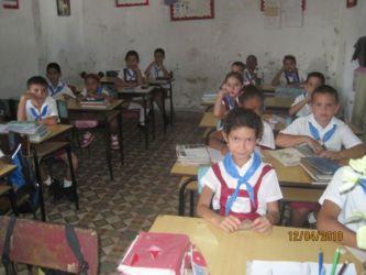 Ecole primaire à Colon
