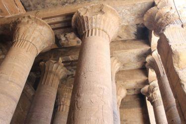 Edfu, salle hypostyle