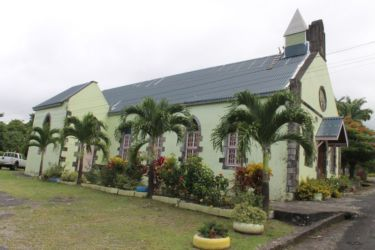 Eglise St François Xavier, à La Plaine