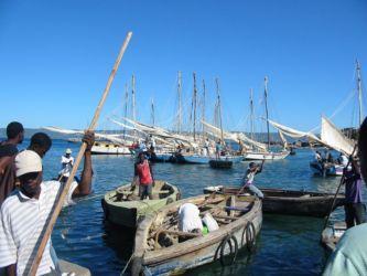 Embarcations à Port-de-Paix pour l'Île de la Tortue
