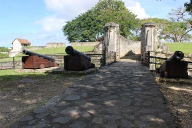 Entrée du Fort Fleur d'Epée