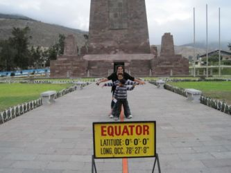 Equator (ligne) et Ecuador (pays)