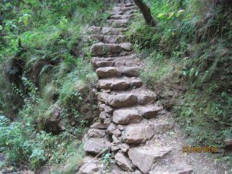 Escalier à Inkallajta