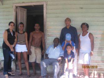 Famille afro-cubaine