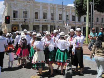 Folklore à Riobamba