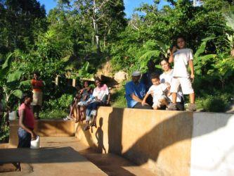 Fontaine publique à l'Île de la Tortue