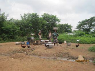 Fontaine publique autour de Kpalimé