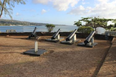 Fort James, Plymouth, Tobago