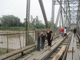 Frontière entre le Coasta Rica et le Panama