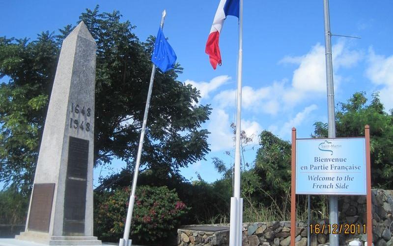 Saint-Martin 1/2 : Partie française