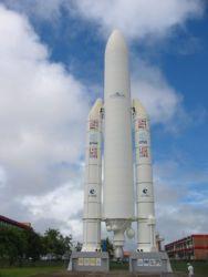 Fusée Ariane à Kourou