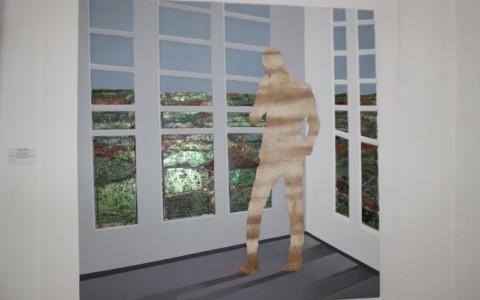 Homme à la fenêtre-1 (Pascal Konan)