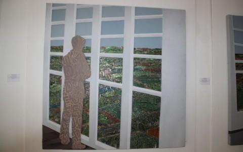 Homme à la fenêtre-2 (Pascal Konan)