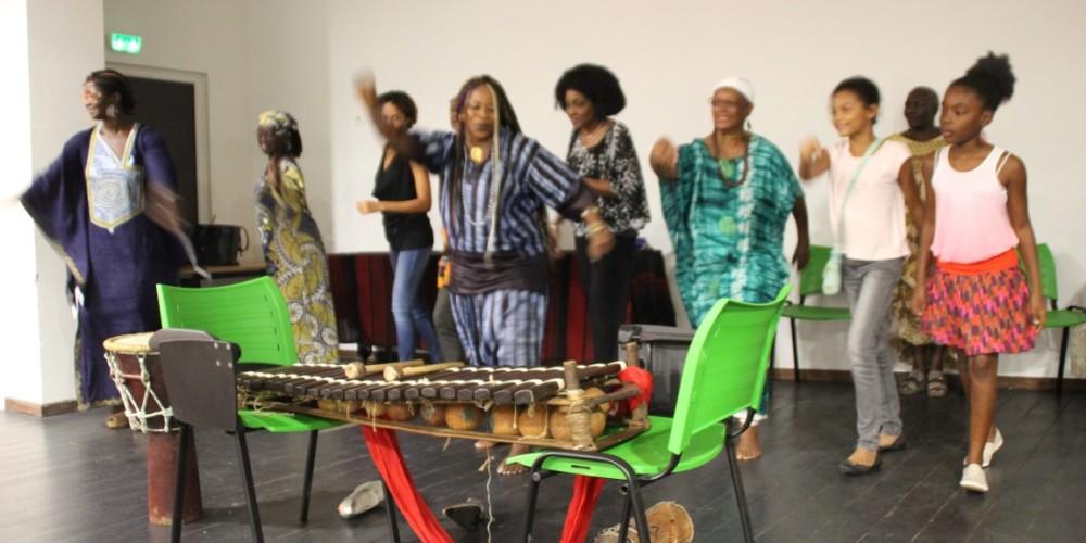 Fatouma Kouyate, griotte guinéenne