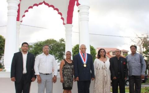 Inauguration du mémorial des engagés indiens