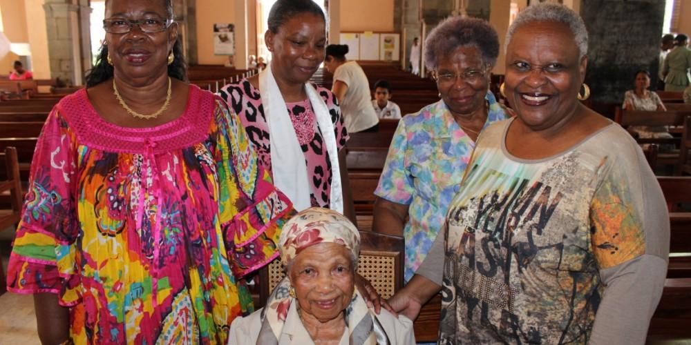 Les centenaires de la Guadeloupe