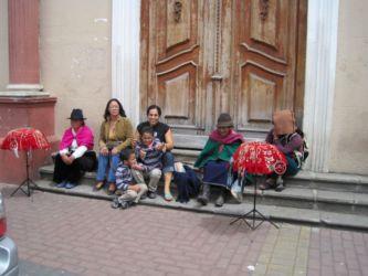 Indiens à Riobamba