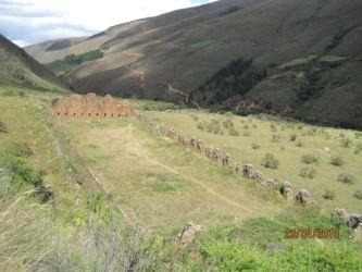Inkallajta, construite par Youpanqui (10è Inca)