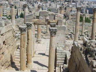 Jérash, le temple de Zeus
