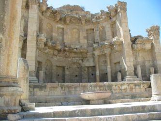 Jérash, nymphée (fontaine construite en 191 ap JC)