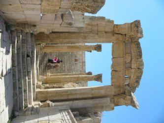 Jérash, ruines d'une église byzantine