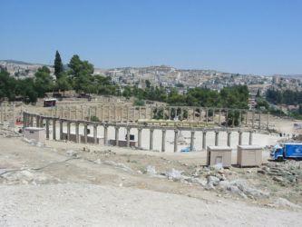 Jerash, le forum ovale