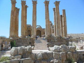 Jerash, le temple d'Artémis