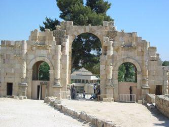 Jerash, porte d'entrée sud de la ville
