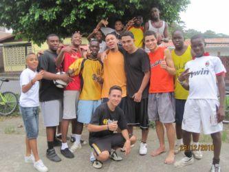 Jeunes de Puerto Limon