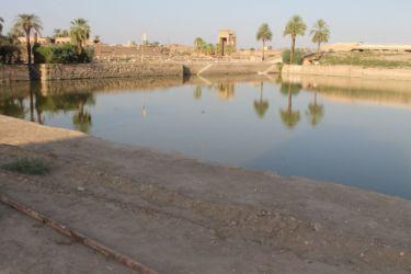 Karnak, le lac sacré