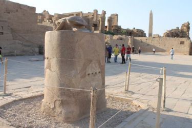 Karnak, scarabée sacré