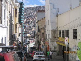 La Paz, cernée de montagnes