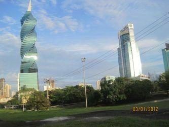 La tour hélicoïdale de Panama City